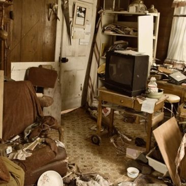 Hoarders clean-up