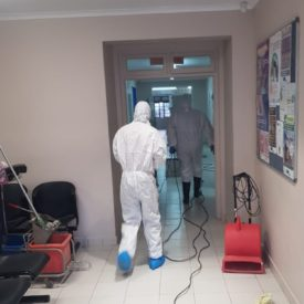 disinfection control