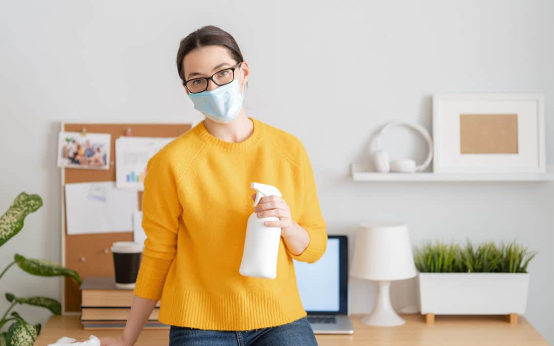 5 Tips on How to Clean your New Office at Home