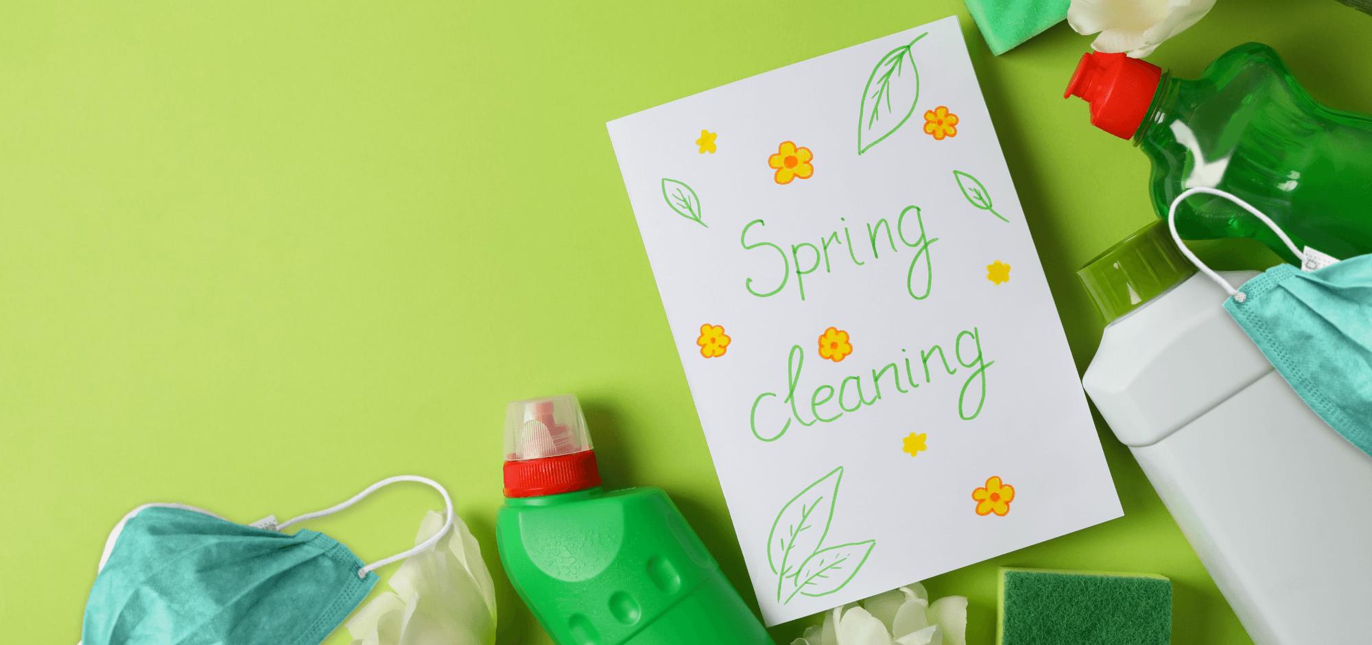 Skitterblink spring cleaning